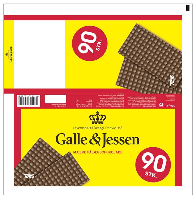 galle og jessen pålægschokolade